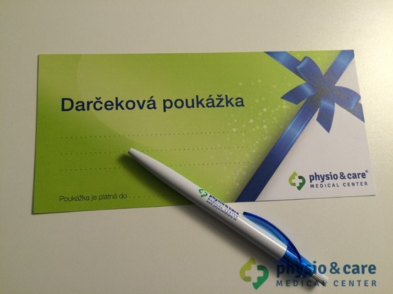 Darčeková poukážka physio & care MEDICAL CENTER