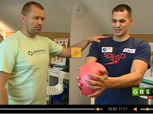 physio & care – MEDICAL CENTER in GBS+ (the sports program – Goals Points Seconds) on the 2nd Channel